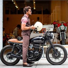 this will kill - overboldmotorco: @marianodivaio with a Honda...