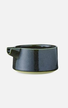 Tone Jug (Darkgreen) Nordic Design, Scandinavian Design, Handmade Design, Danish Design, Copenhagen, Cuff Bracelets, Objects, Artisan, Ceramics