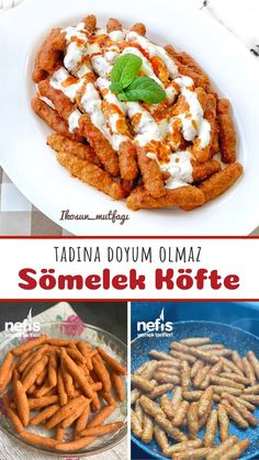 Easy Dinner Recipes, Great Recipes, Snack Recipes, Healthy Recipes, Snacks, Good Food, Yummy Food, Turkish Recipes, Creative Food
