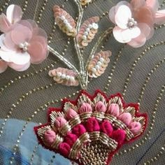 Boutique in bangalore Pearl Embroidery, Embroidery On Kurtis, Kurti Embroidery Design, Couture Embroidery, Embroidery Motifs, Full Mehndi Designs, Cool Designs, Get Directions, Crystal Rhinestone