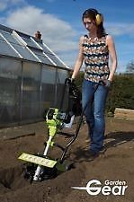 Garden Gear Petrol Tiller  20cm Cultivating Depth 30cm Wide