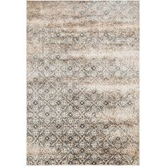 Add a striking classic look to your decor with the Kingsley rug.  This rug features a deliberately distressed vintage pattern with a modern twist, creating the perfect transitional rug to fit most any space.