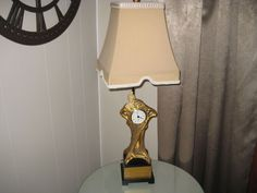 Dale Tiffany Inc. Antiques Roadshow Signature Art Deco Lady Clock Lamp Stunning #ArtDeco