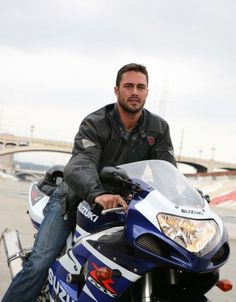 Taylor Kinney....and this is lady gaga's man...I just wanna hang out at a bar or dinner party with them and see it in action...for real!