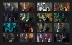 ArtStation - Narrative Light and Color - Medieval Ruins, Stéphane (Wootha) Richard