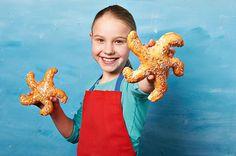 Süße Seesterne für Kinder Rezept | Dr. Oetker