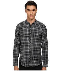 THE KOOPLES Sport Flannel Plaid Checks Button Up. #thekooples #cloth #shirts & tops