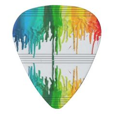 colorful picks | Color The Music or Music the Color Guitar Pick