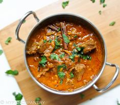 Lamb Curry with Apricots and Almonds | My Fancy Pantry