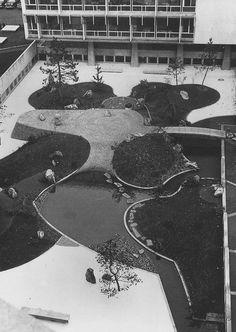 UNESCO Garden, Paris - Isamu Noguchi