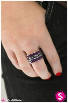 #purple #ring only $5!  Www.paparazziaccessories.com/39040