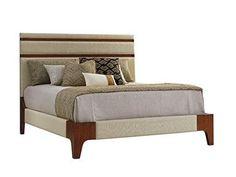 Elite Furniture Gallery NC Furniture Lexington Home Brands Tommy Bahama Home Mandarin Upholstered Panel Bed, 6/6 King 556-134C www.elitefurnituregallery.com 843.449.3588 Nationwide Delivery