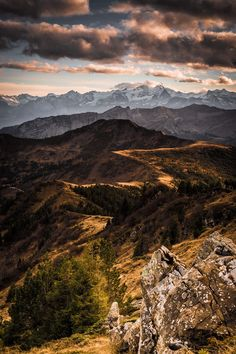 Last day of autumn in the beautiful swiss alps by Carlo Zgraggen on 500px