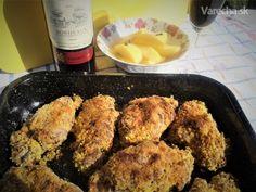 Smažené bravčové nožičky (fotorecept) - Recept Ale, Chicken, Meat, Food, Ale Beer, Essen, Meals, Yemek, Eten