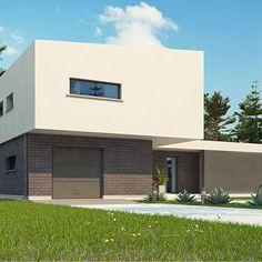 Zx70 to wyjątkowy dom z kategorii projekty domów do 170 m2 Exterior, Home Fashion, House Design, Mansions, House Styles, Home Decor, Building Homes, Projects, Decoration Home