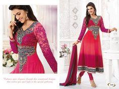 Anarkali Indian Pakistani Designer Salwar by MaahRoseClothings