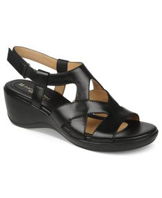 Naturalizer Shoes, Tanner Wedge Sandals - Naturalizer Sandals - Shoes - Macy's every color please