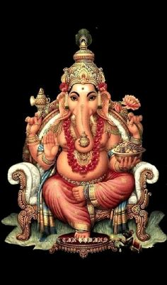 Bhagwan Shree Ganesh Ji Ki Photo Wallpaper and HD Pictures Lord Ganesha Paintings, Lord Shiva Painting, Ganesha Art, Shri Ganesh Images, Ganesha Pictures, Orisha, Ganesha Tattoo Lotus, Lotus Tattoo, Tattoo Ink