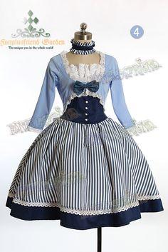 5e22433e53f Victorian Lolita   Steampunk Plead Bustle Pierrot Jacket