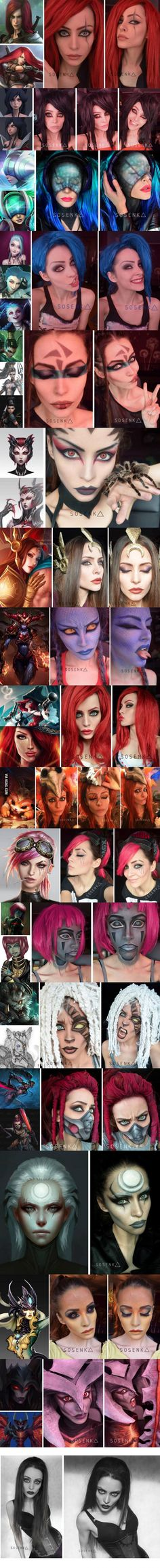 League of Legends Makeup