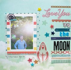 Love You to the Moon by A2Kate at @Studio_Calico