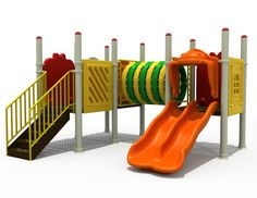 Outdoor Playground Equipment for schools, parks & play areas. Our exciting giant playground structures includes slides, play panels, puzzles & climbing bars Outdoor Jungle Gym, Kids Outdoor Playground, Playground Set, Swing And Slide, Cool Kids, Kids Fun, Kids Playing, Plastic, Cartoon