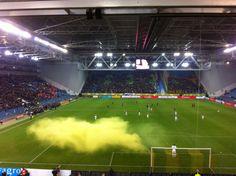 Piets weerbericht: Arnhem, licht bewolkt...