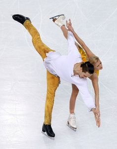 Tatiana Volosozhar and Maxim Trankov of Russia compete in the Figure Skating Pairs Free Skating during day five of the 2014 Sochi Olympics a...