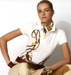 Ralph Lauren equestrian outfit