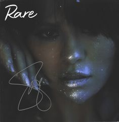 "Selena Gomez signed ""RARE"" litho from her website (Sold Out) Black Background Wallpaper, Glitter Wallpaper, Uplifting Quotes, Quotes Positive, Selena Gomez Album Cover, 100 Songs, Marie Gomez, Her Music, Backgrounds"