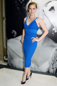 Amy Adams wearing Victoria Beckham Pre-Fall 2014 – The Weinstein Company's Post-BAFTA Party #2014