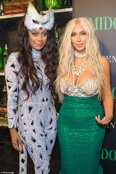 Besties:La La is an actress who has appeared several times with her close friend Kim Kardashian on Keeping Up With The Kardashians (pictured in 2012)
