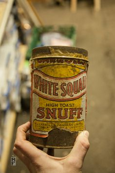 Snuff Tin - HI