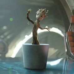 Music Video: Baby Groot Dancing to Jackson 5 - I Want You Back. Scene from Guardians of the Galaxy where Groot shakes his vines to the groove of Jackson 5