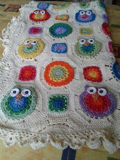 Cobija crochet