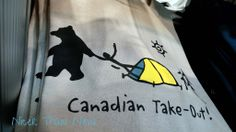 Canadian Take Out t-shirt humour Funny Shirts, Toronto, Map, Marketing, Cool Stuff, Nice, T Shirt, Accessories, Humor