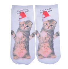 Kitty Power Socks
