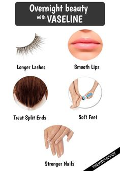 We have access to the latest, greatest beauty products, that doesn't mean we don't appreciate the classics. Keep a small box of vaseline or make your own natural vaseline and use it in few simple and easy ways in your overnightbeauty routine: Lash care: Coat your lashes with vaseline to strengthen it and also remove …