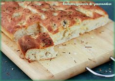 Recette Focaccia genovese 20 Min, C'est Bon, Food Porn, Bread, Cheese, Pains, Oui, Bakery Business, Italy