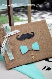 Βιβλίο ευχών Little Man Mustache Birthday, Mustache Party, Trousseau Packing, Cute Baby Shower Ideas, Diy And Crafts, Paper Crafts, Dad Day, Baby Christening, Little Man