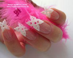 Buterfly Nails by Mirela Liardo