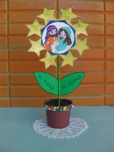 Xmas, Christmas, Sunday School, Planter Pots, Easter, Children, Birth Of Jesus, Christmas Art, Crafts For Kids
