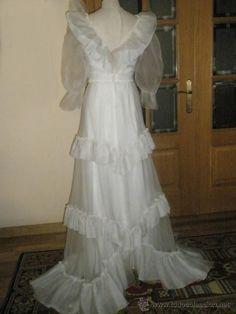 www.vestidos de novia de la decada d elos 70 - Buscar con Google
