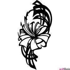 blomster sort hvid - Google-søgning