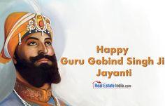 #RealEstateIndia - May #GuruGobindSinghJi bless you & your family with joy, peace and happiness for eternity. #GuruGobindSinghJayanti #Sikh