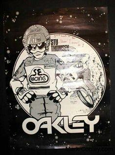 Haro / Stu Thompson poster Oakley