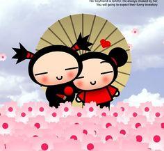 20 Mejores Imágenes De Pucca Y Garu Pucca Caricatures Y Funny Love
