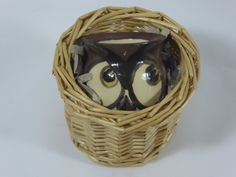 Small Owl beaker/ornament by AlecPDavis on Etsy Valentine's gift to or from a bird lover!