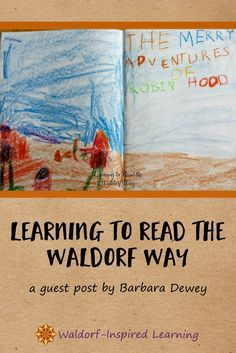 Learning to Read the Waldorf Way, a guest post by Barbara Dewey, that describes the Waldorf approach to readying: starting with stories, drawing, writing and then reading. Creating a language-rich environment for children is the key. Read more here.