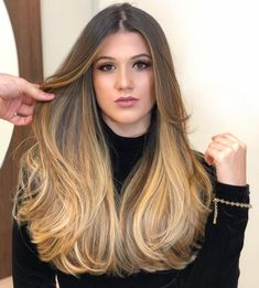 New hair color ideas for brunettes balayage sun kissed locks ideas Best Ombre Hair, Ombre Hair Color, Balayage Brunette, Balayage Hair, Brown Hair Inspiration, Straight Hairstyles, Cool Hairstyles, Hairstyle Ideas, Hair Color Ideas For Brunettes Balayage